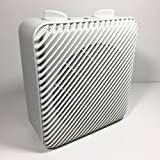Pelonis Fan-Forced Heater w/ Adjustable Thermostat Small Room (White HF-1008W)