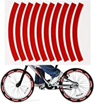 10pcs Adhesive Reflective Tape Cycling Safety Warning Sticker Bike Reflector Tape Strip for Car Bicycle Motorc