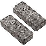 Expo Block Eraser 81505 Dry Erase Whiteboard Board Eraser, Soft Pile, 5 1/8 W x 1 1/4 H - Pack of 2
