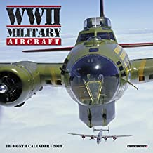 WWII Military Aircraft Mini 2019 Wall Calendar