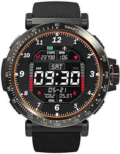 Relógio Smartwatch Blitzwolf BW-AT1, com sensor de batimentos cardíacos, à prova d'água - Preto