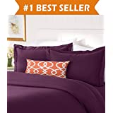 thread count egyptian quality luxurious silkysoft wrinkle free 3piece duvet cover set kingcali king