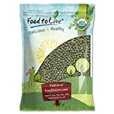 Organic French Green Lentils by Food to Live (Whole Dry Beans, Non-GMO, Kosher, Raw, Sproutable, Bulk) (5 pounds)