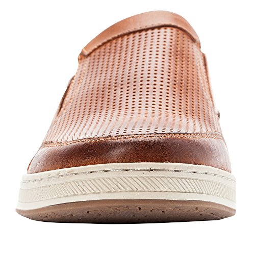 sast for sale Propét Logan Men's Slip On Brown in China for sale from china sale online free shipping comfortable cheap sale 2014 new kQST7EP