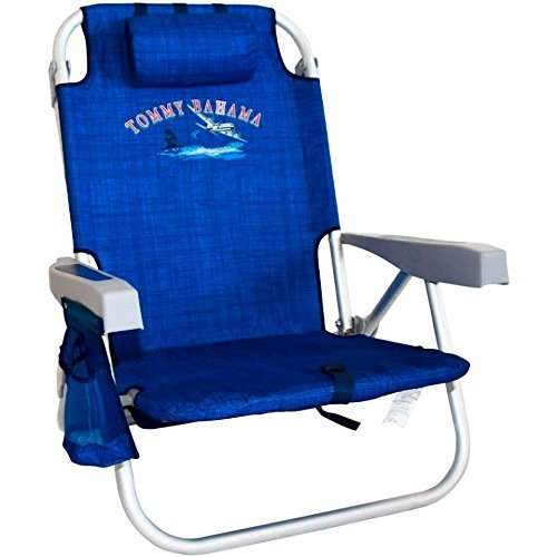 Tommy Bahama Backpack Cooler Chair  Blue