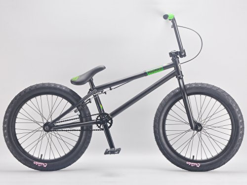 "Mafiabikes Madmain 20"" FLAT BLACK Harry Main BMX Bike"