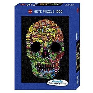 Doodle Skull Puzzle 1000 Teile Inglese Giocattolo 1 Ago 2018