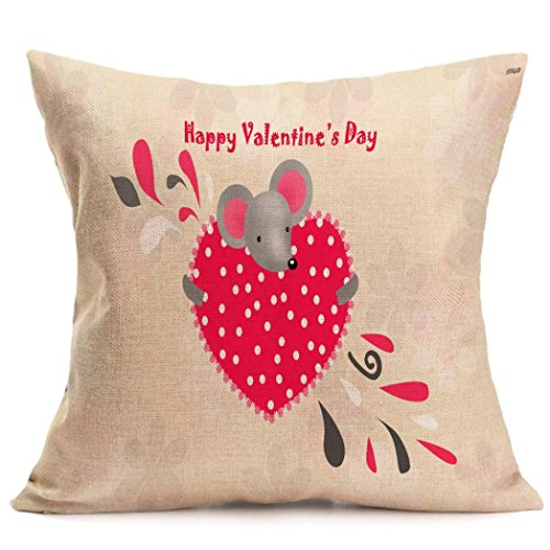 [Gotd LOVE HEART COUPLE 18x18 Pillowcase Throw Pillow Case Cushion Cover Gifts For Decorations Ornaments Decorative Decor] (70s Costumes For Couples)