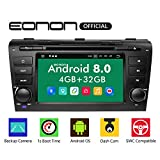 Android Auto,Car Play Car Stereos, Double 2 Din Car Stereo Radio,Eonon 4GB RAM +32GB ROM Bluetooth Android 8.0 Head Unit Octa-Core 8 Inch in Dash Touch Screen Support WiFi,Fastboot -GA9151B