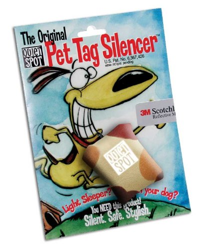 Quiet Spot Pet Tag Silencer – Camouflage, My Pet Supplies