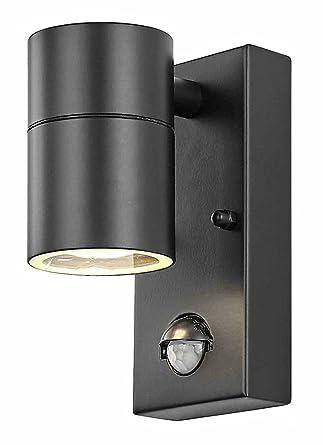 Haysoms - Lámpara de techo con sensor PIR para exteriores ...