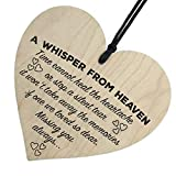 Topgee Wooden Hanging Pendant Family Friendship Love Sign Decor Wood Heart Slices Craft Gift