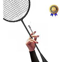 Ultra-light Badminton Racket All Carbon Fiber Single Shot Racquet 4U Offensive Defensive Fit For Men and Women Beginners