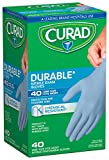 Curad CUR4045R Powder-Free Nitrile Exam Gloves (Pack of 24)