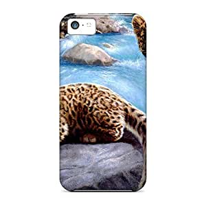 XiFu*MeiNew Mycase88 Super Strong Leopard Cubs Cases Covers For iphone 5/5sXiFu*Mei