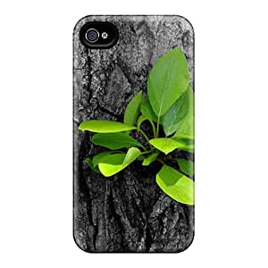 Shock-dirt Proof New Growth On Bark Of Tree Case Cover For Iphone 4/4s
