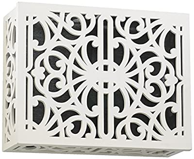 Quorum International 7-115-08 Door Chime Cover, Studio White