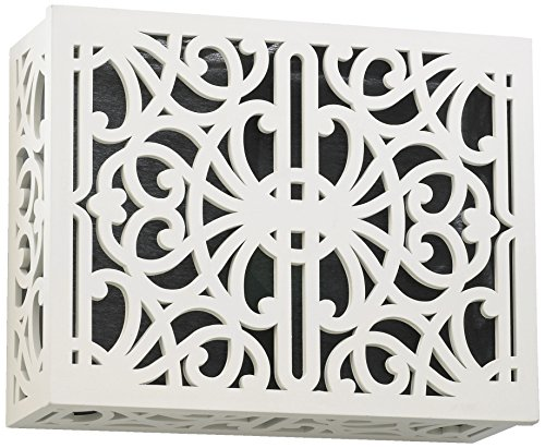 Quorum 7-115-08 Accessory - Door Chime Grille, Studio White -