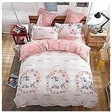 e0817f1c1e293 KFZ Girls Magic Unicorn Bed Set  4pcs Twin Size Bedding 59