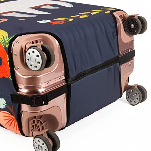 Madifennina Spandex Travel Luggage Protector Suitcase Cover Fit 23-32 Inch Luggage (sloth, XL) by Madifennina (Image #5)