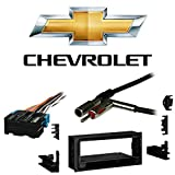 Fits Chevy S-10 Pickup 98-01 Single DIN Stereo Harness Radio Install Dash Kit