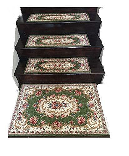 (Acrylic Non-slip Stair Runners Rug Stair Treads Carpet Stair Landing Door Mat Custom Size (Stair Landing-90x90cm 35x35