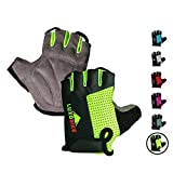 LuxoBike Cycling Gloves Bicycling Gloves Mountain...