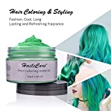 Green Temporary Hair Dye Wax 4.23 oz, HailiCare