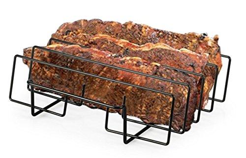 Artestia BBQ Grill Non-Stick Rib Rack, 11.5