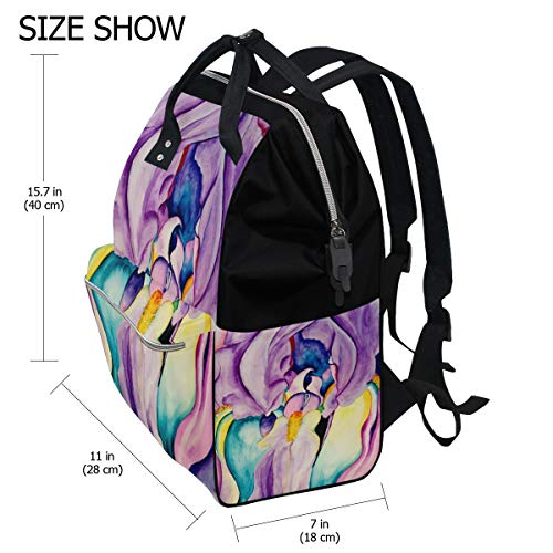 Travel Mummy Flora Canvas Muti Function Large Capacity Bag Skull Bag for Multi9 Backpack Women 0xCwPSFq