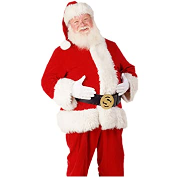 FAFY Navidad Disfraz De Papa Noel,Disfraz De Santa Claus ...