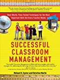 Successful Classroom Management, Richard Eyster and Christine Martin, 1402240120