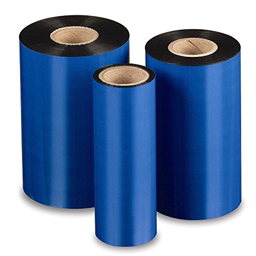 Thermal Transfer Ribbon for Zebra Printer, $8.26/ea, Case of 24, 4.33