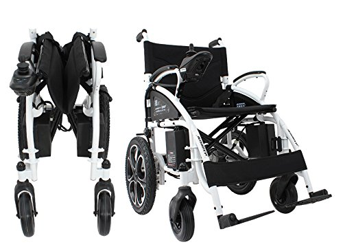 ectric Wheelchair - Foldable Lightweight Heavy Duty Electric Power Wheelchair (Foldable Power Wheelchair)