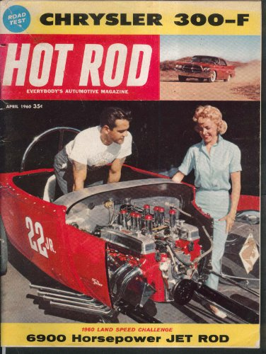 - HOT ROD Chrysler 300-F road test, Phaeton Pontiac Club Car 4 1960
