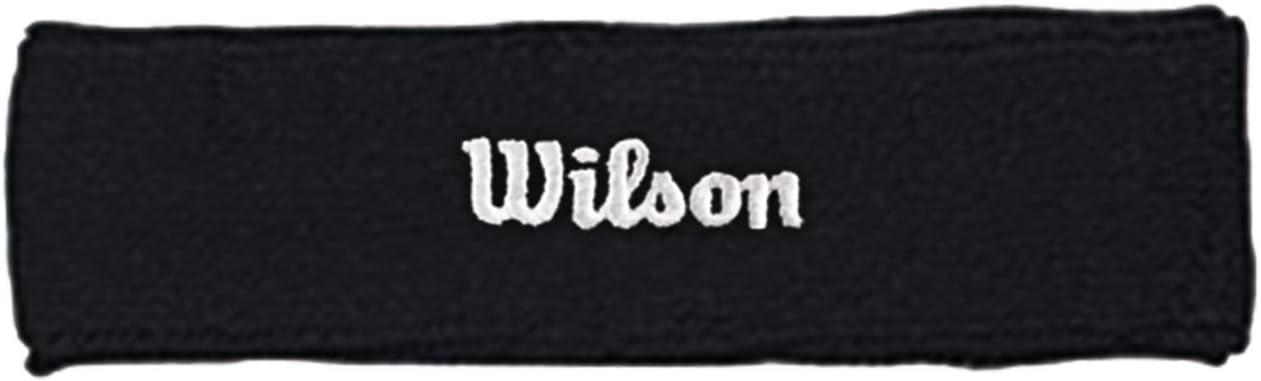 Wilson Headband Gorra, Unisex Adulto
