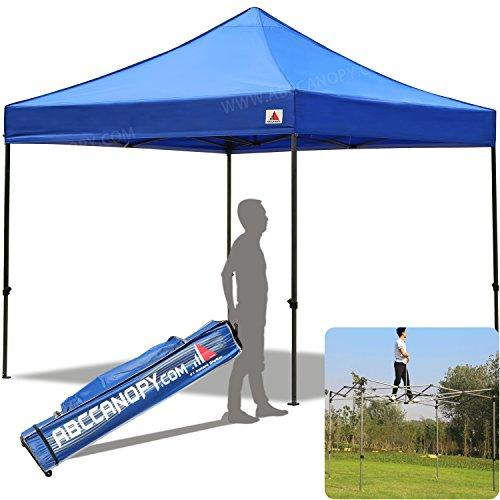 ABCCANOPY 30+colors Pop Up Canopy 10 X 10-feet Commercial Instant Canopy Kit Ez Pop up Tent,Bonus Carrying (Commercial Canopy Tent)