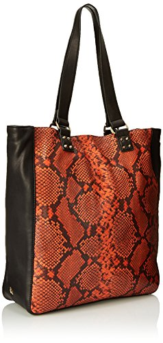 Orange Ash Black Orange Tote Tote Ash Python Python Black BUwdvqB