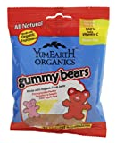 yummy earth gummy bears - Yumearth Gummy Bears, 2.5-Ounce (Pack of 12)