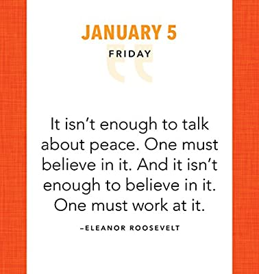 2018 Great Quotes from Great Leaders Boxed Calendar: Sourcebooks ...