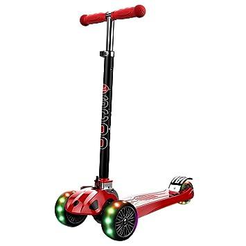 HYE-Patinete Kick Scooter para niños de 3 Ruedas para niños ...
