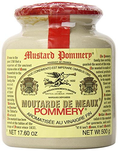 Pommery Meaux Mustard Stone Jar, 17.6-Ounce -