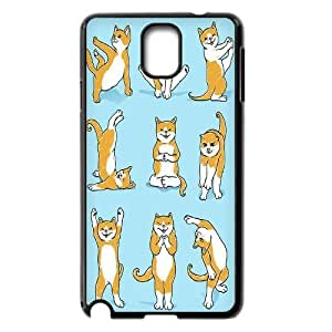 Yoga Cats Custom Cover Case for Samsung Galaxy Note 3 N9000,diy phone case ygtg572252