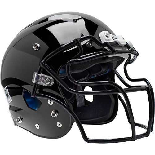 Schutt Adult Vengeance Pro Football Helmet (Matte Black, Large)