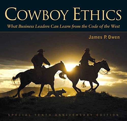 Where to find cowboy ethics by james p. owen?