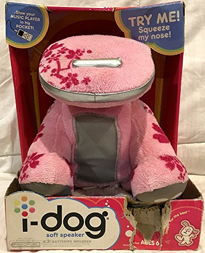 Hasbro i-Dog Snuggly Speaker - Pink