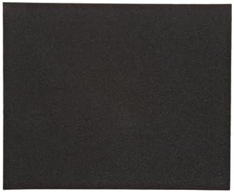 Norton K622 Abrasive Sheet, Cloth Backing, Emery, Grit Extra Coarse  (Pack of 5)