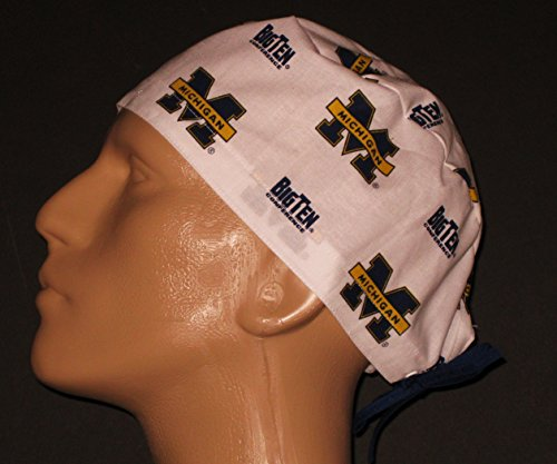 University of Michigan Big Ten Rare Surgical Scrub (Michigan Scrub)