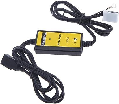 Interface pour voiture Adaptateur autoradio MP3 USB SD auxiliaire et pour diff/érents mod/èles volkswagen skoda audi et seat