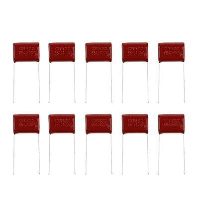 100pcs Condensador de Película de Poliéster Set 10 Valores 103--684 nF uF
